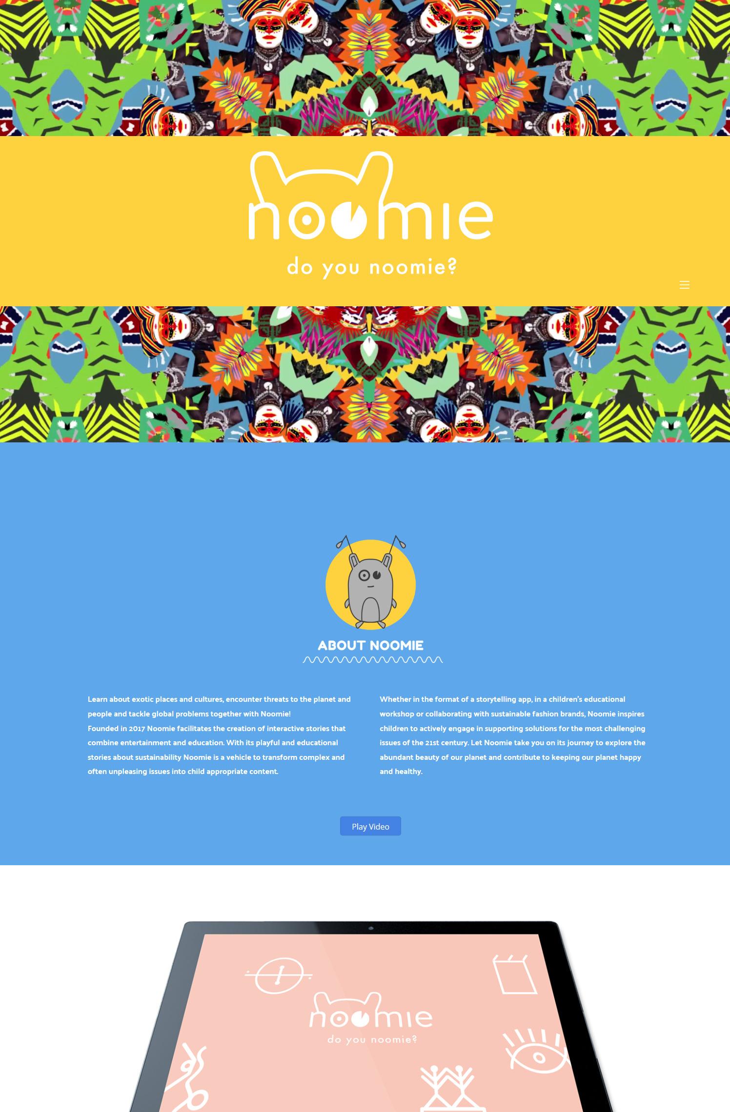Noomie – Raise awareness, inspire and create impact